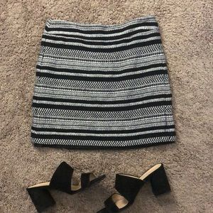 Ann Taylor Loft Tweed Skirt
